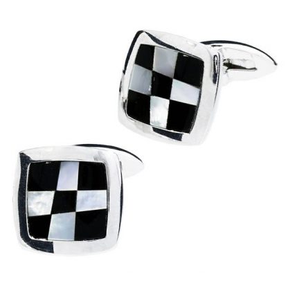 Checkerboard Cufflinks