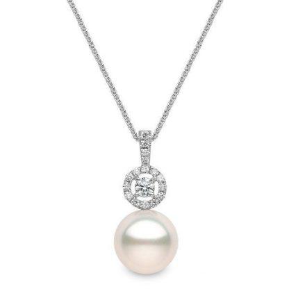 Pearl & Diamond Pendant