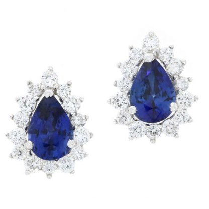 Pear Cut Sapphires