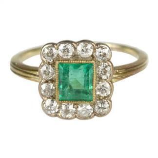 Emerald & Diamodn Cluster