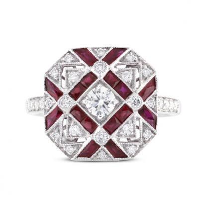 Ruby & Diamond Dress Ring